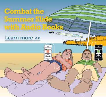 Combat The Summer Slide With Audio Books.