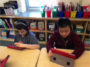 silent sustained reading and listening